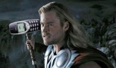 Thor from Marvel with an indestructible Nokia cell phone as his hammer.