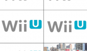 A bunch of Nintendo Wii U logos that is imitating the siren of a fire truck.